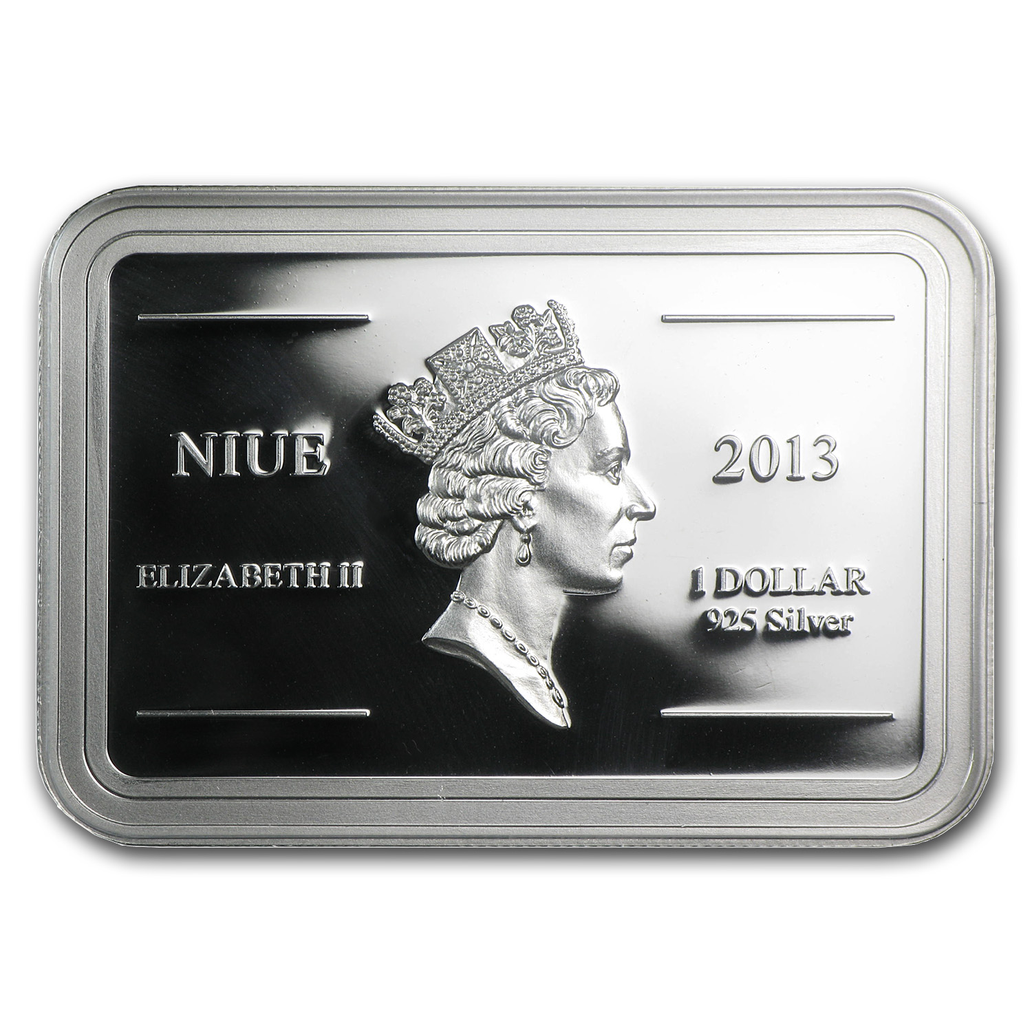 2013 1 oz Silver $1 Niue Royal Gramma Proof